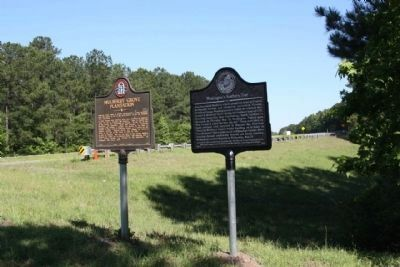 Washington's Southern Tour Marker along Augusta Rd ( GA-21 / GA-30) image. Click for full size.