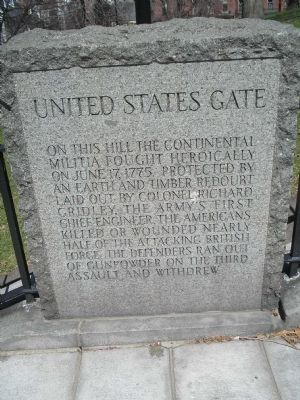 United States Gate North Marker image. Click for full size.