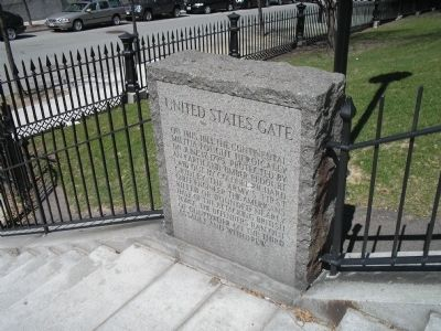 Marker in Charleston image. Click for full size.