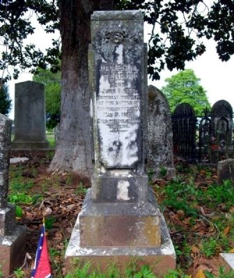Col. James M. Perrin<br>Long Cane Cemetery, Abbeville, SC image. Click for full size.