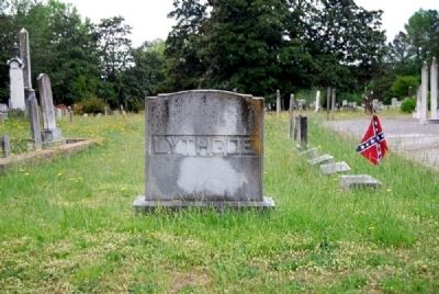 Augustus J Lythgoe Family Plot<br>Long Cane Cemetery, Abbeville, SC image. Click for full size.