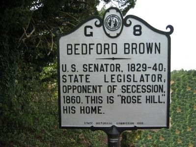 Bedford Brown (1795-1870) image. Click for full size.