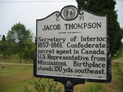 Jacob Thompson (1810-1885) image. Click for full size.