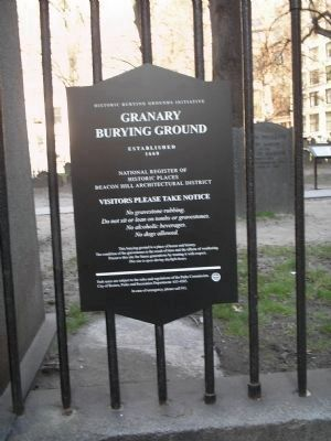 Granary Burying Ground image. Click for full size.