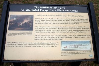 The British Safety Valve Marker image. Click for full size.