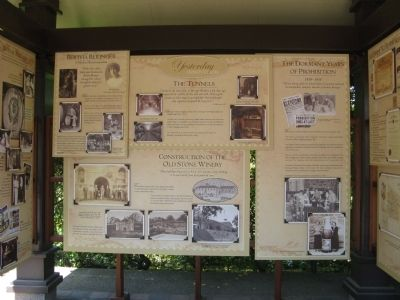 Interpretive Station Giving History of the Winery and it's Vineyards image. Click for full size.
