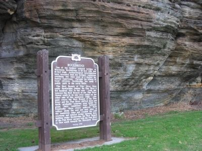 Rockbridge Marker image. Click for full size.