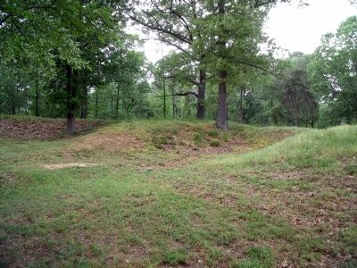 Tyndall's Point Park Earthworks. image. Click for full size.
