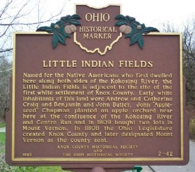 Little Indian Fields Marker image. Click for full size.