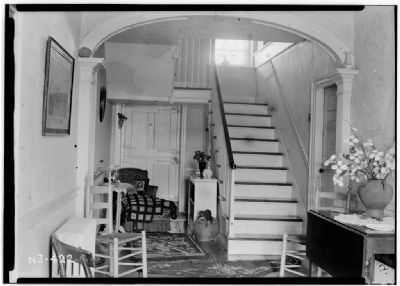 Main Hall, Benjamin P. Westervelt House image. Click for full size.