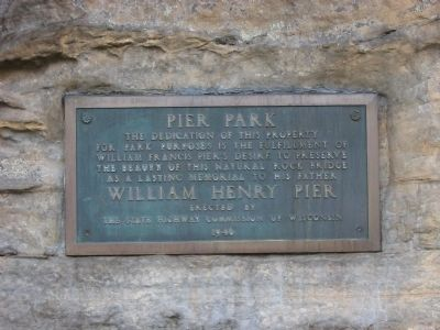 Pier Park Marker image. Click for full size.