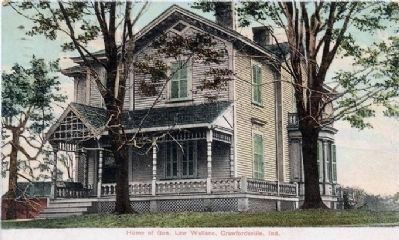 Lew Wallace Home image. Click for full size.