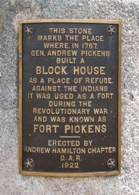 Fort Pickens Marker image. Click for full size.