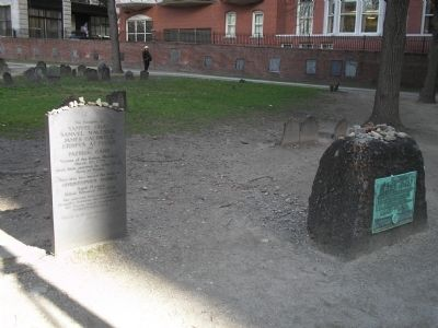 Graves in Granary Burying Ground image. Click for full size.
