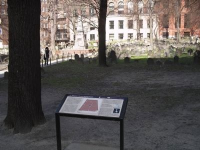 Granary Burying Ground Marker image. Click for full size.