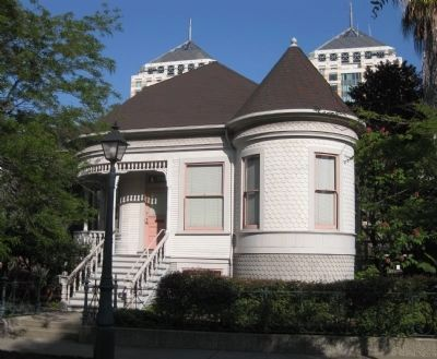 R.E. Bauske House (Constructed 1896) image. Click for full size.