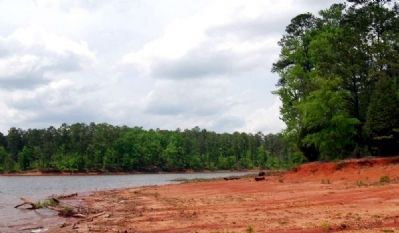 Waters of Lake Thurmond -<br>Shoreline Affected by Drought image. Click for full size.