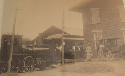 Schohare Valley Station circa 1900 image. Click for full size.