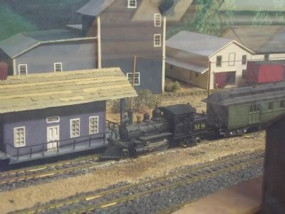 The Middleburgh & Schoharie Yard in HO Scale image. Click for full size.
