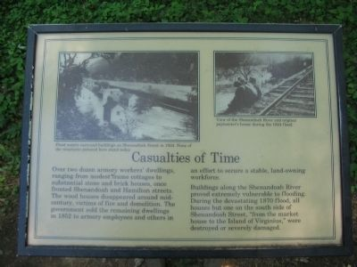 Casualties of Time Marker image. Click for full size.
