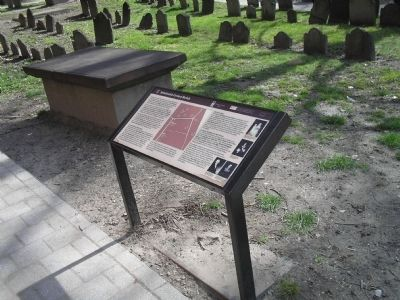 Marker in Granary Burying Ground image. Click for full size.