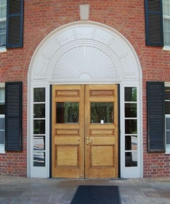 Judson Hall Main Entrance image. Click for full size.