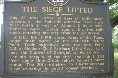 The Siege Lifted Marker image. Click for full size.
