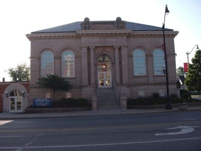 Front View - - Carnegie (Library) Museum Building image. Click for full size.