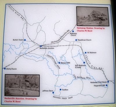 Burkeville Junction Map image. Click for full size.