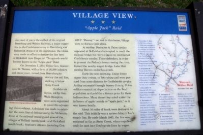 Village View CWT Marker image. Click for full size.