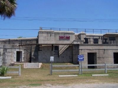 Fort Screven Battery Brumby, as seen today image. Click for full size.