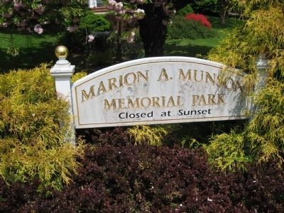 Marion A. Munson Memorial Park image. Click for full size.