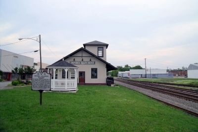 Emporia Train Depot image. Click for full size.