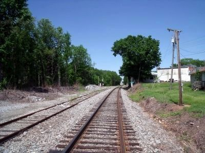 Amelia RR siding image. Click for full size.