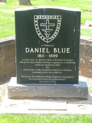 Daniel Blue Marker image. Click for full size.