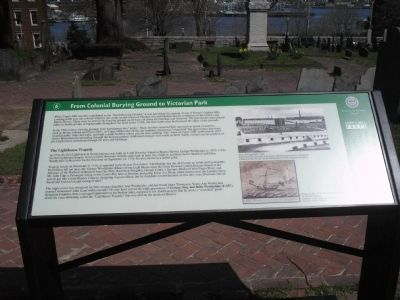 From Colonial Burying Ground to Victorian Park Marker image. Click for full size.