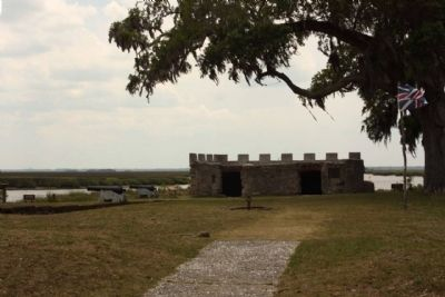 Fort Frederica image. Click for full size.