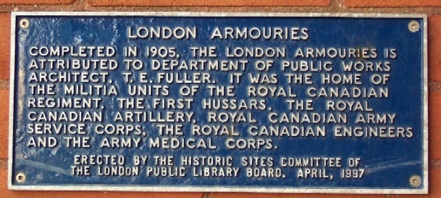 London Armouries Marker