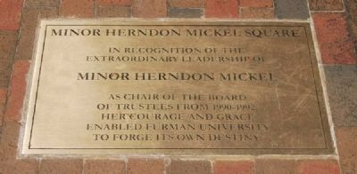 Minor Herndon Mickel Square Marker image. Click for full size.