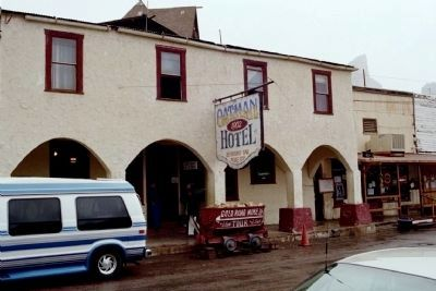 Oatman Hotel image. Click for full size.