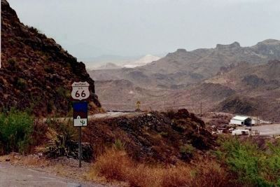 Historic RT66 , a goldmine near Oatman image. Click for full size.