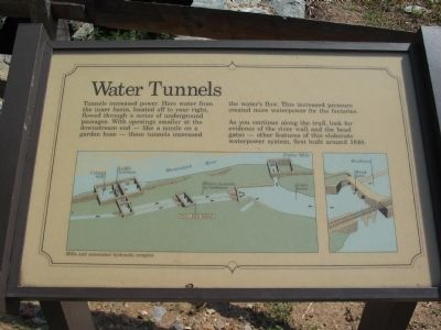 Water Tunnels Marker image. Click for full size.