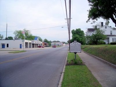 South Main Street (facing south) image. Click for full size.