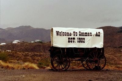 Welcome to Oatman, AZ image. Click for full size.