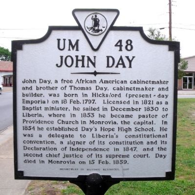 John Day Marker image. Click for full size.