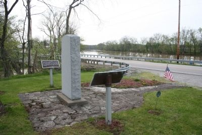 Site of Fort Brown Marker image. Click for full size.