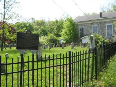 Pioneer Methodist Bishop Francis Asbury Marker and Mt. Bethel Church image. Click for full size.