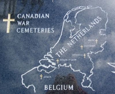 Canadian War Cemeteries in the Netherlands image. Click for full size.
