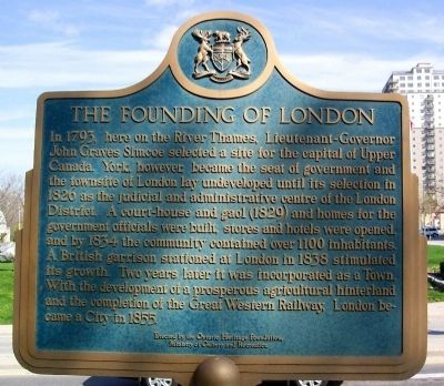 The Founding of London Marker image. Click for full size.