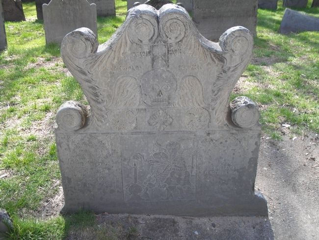 Gravestone of Joseph Tapping image. Click for full size.